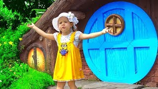 Diana Pretend Play in the Amusement Park! Family Fun Adventures with Kids Diana Show
