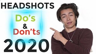 Acting Headshots Dos And Donts 2020