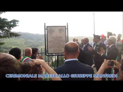 Preview video Video servizio cerimonia commemorazione maresciallo Giuseppe Manfredi Laurenzana 18 giugno 2016