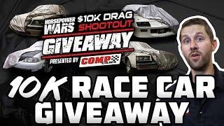 Announcing the 2018 $10K Drag Shootout Car Giveaway