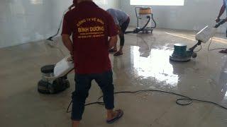 Dịch vụ vệ sinh công nghiệp Bình Dương