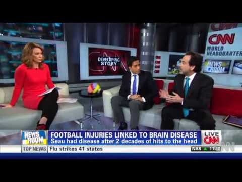 Drew Findling, Atlanta attorney, discusses NFL and Brain Trauma on CNN