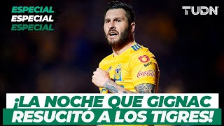 ¡2 goles en 3 minutos! La noche que Gignac regresó a Tigres a la final | TUDN