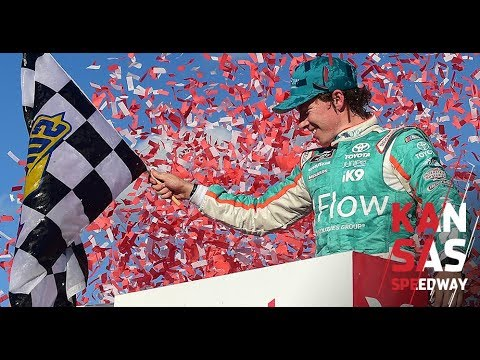 NASCAR Xfinity Series playoff race at Kansas Speedway in 136 seconds