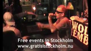Swollen Members - Deep End, Live at Lilla Hotellbaren, Stockholm 9(15)