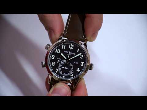 Patek Philippe Calatrava Pilot Travel Time 5524 Watch Hands-On   aBlogtoWatch