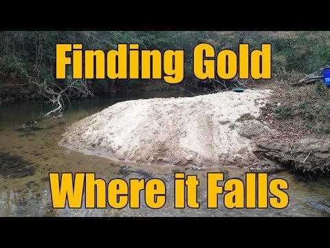 Where the Gold Hides in Creeks - Gravels and Inside Bends