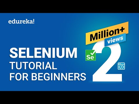 Selenium Tutorial For Beginners | What Is Selenium? | Selenium ...