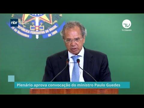 Plenário aprova convocação do ministro Paulo Guedes - 06/11/21