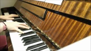 Reunion - The XX (piano cover + lyrics)