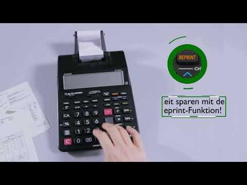 Druckende Rechner - Reprint Funktion