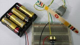 circuito de 4 velocidades para variar un motor dc