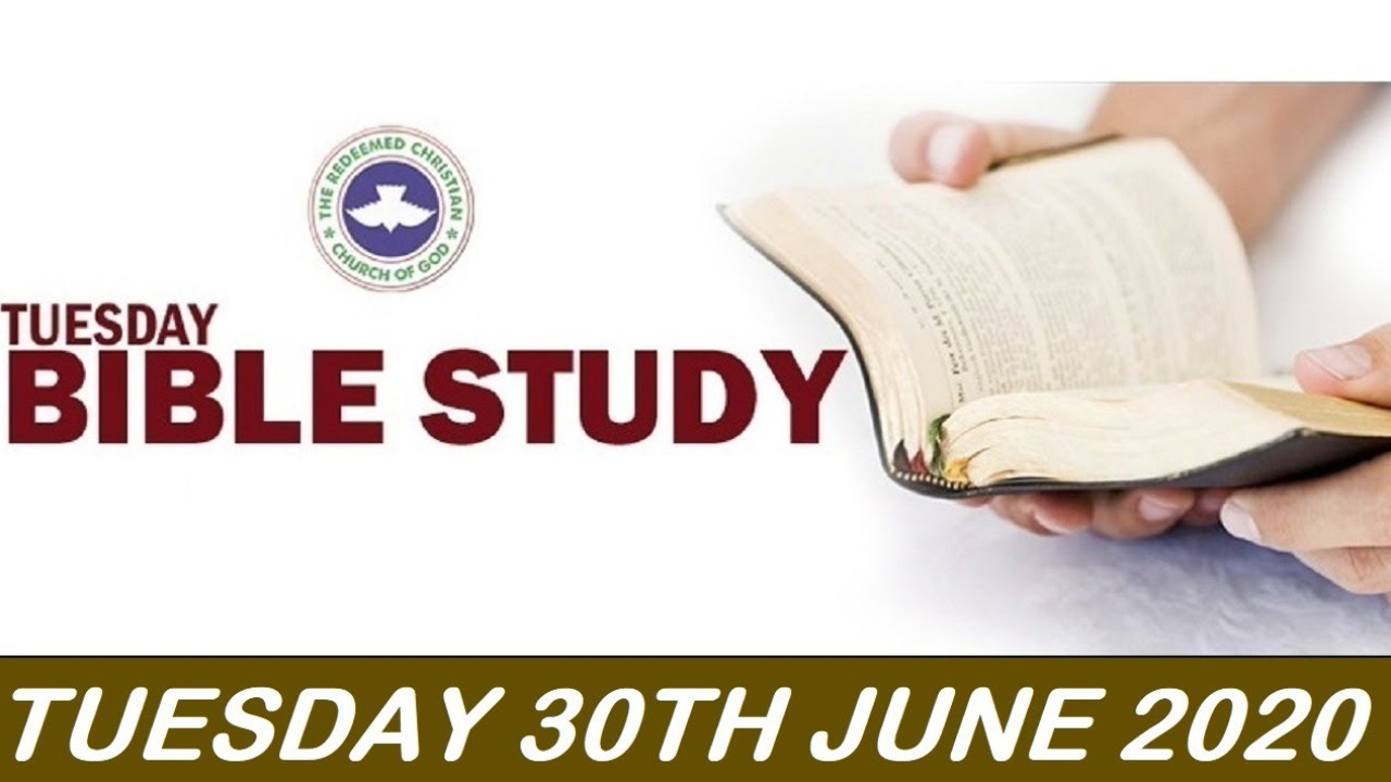 Watch Live RCCG 30 June 2020 Bible Study
