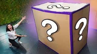 NERF *GIANT* Mystery Box Challenge!