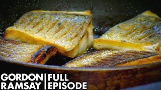 Amateur Cook Burns 75 Portions Of Sea Bass | The F Word FULL EPISODE