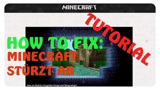Game Crash Minecraft Error Launcher SOLVED Most - Pc sturzt beim minecraft spielen ab