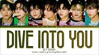 NCT DREAM Dive into you Lyrics (엔시티 드림 고래 가사) (Color Coded Lyrics)