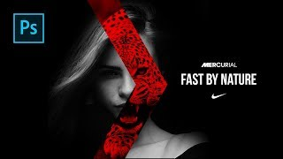 bbaaba4634f Cara Edit Foto Seperti Poster Nike Born Mercurial Di Photoshop - Photoshop  Tutorial Indonesia