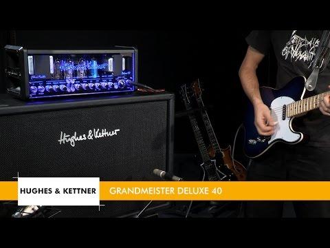 L'ampli Hughes & Kettner GRANDMEISTER DELUXE 40 (Les Bancs d'Essai de la Boite Noire)