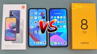 Realme 8 5G vs Xiaomi Redmi Note 10 5G Comparison & Camera Comparison