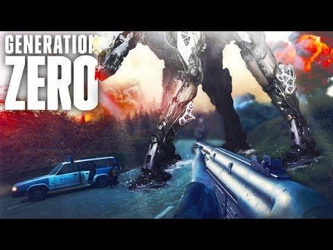 This NEW Beast Learns While It Hunts! - Generation Zero Gameplay