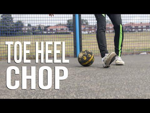 Toe Heel Chop | FIFA Skills Lateral Heel to Heel