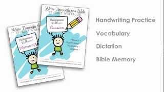 Handwriting Worksheets: Bible Copywork Made Easy