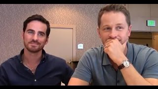 Once Upon A Time - Colin ODonoghue, Josh Dallas Interview, Season 6