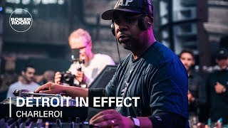 Detroit In Effect - Live @ Boiler Room x Eristoff Day/Night Belgium 2019