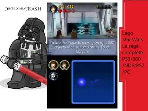 Vidéo LEGO Jeux vidéo DSSWLSC : Lego Star Wars : la saga complète DS