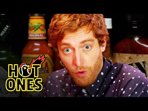 Thomas Middleditch Does Improv While Eating Spicy Wings | Hot Ones