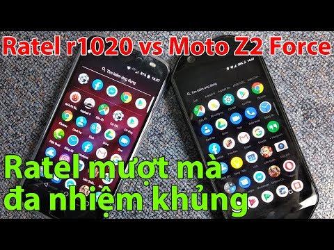 Speed Test Đánh Giá Ratel Cell R1020 vs Moto Z2 Force | Điện Thoại Giá Rẻ | Mua Sắm Thông Minh
