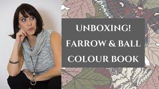Farrow & Ball Paint Book Unboxing
