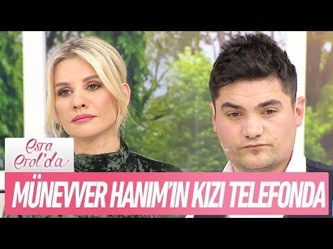 Hasan Can'ın doğumuna giren Münevver'in kızı telefonda - Esra Erol'da 21 Şubat 2018