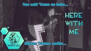 The Killers-Here With Me (Subtítulos/Lyrics)