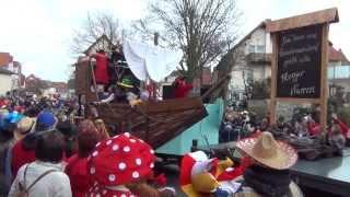 preview picture of video 'Karnevalsumzug Alzey 2014'
