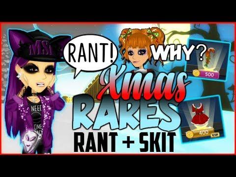 MSP Everything Wrong With Xmas Rares - RANT + SKIT!