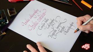 Базовая каллиграфия для начинающих с Вероникой Чебаник