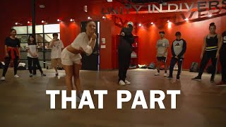 Jade Chynoweth | ScHoolboy Q - THat Part | Anze Choreography