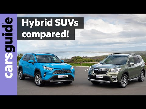 Toyota RAV4 hybrid vs Subaru Forester hybrid 2020 comparison review