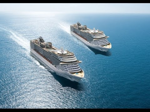 MSC Cruceros - La Flota