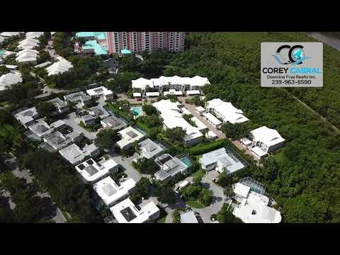 Pelican Bay Chanteclair Maisonettes Naples Florida 360 degree fly over video