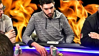 $100,000 In 1 Hour?!?! Art Papazyan Goes On Unreal Heater ♠ Live At The Bike!