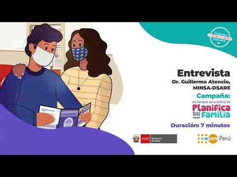 Entrevista Dr. Guillermo Atencio - Planificación Familiar