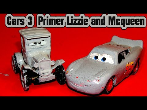 Pixar Cars Custom Lizzie With Fabulous Miss Fritter From Disney Cars McQueen