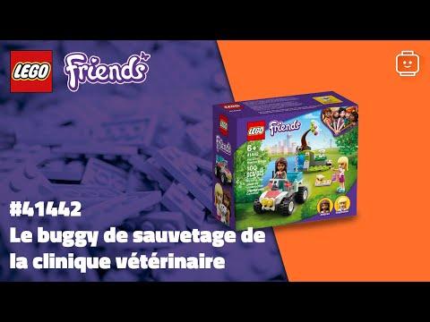 Vidéo LEGO Friends 41442 : Le buggy de sauvetage de la clinique vétérinaire