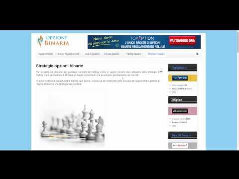 Opzione binaria con segnali di trading