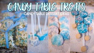 BOY BABYSHOWER CANDY TABLE TREATS | DIY TREATS FOR A DESSERT CANDY BAR 2020