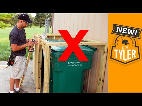 , title : 'Hide your Trash! Double Trash can Blind