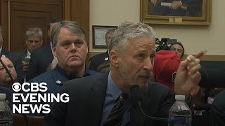 Jon Stewart slams lawmakers for failing to extend 9/11 first responder fund